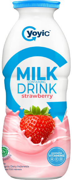 YoyiC Susu Fermentasi Non Yogurt Strawberry